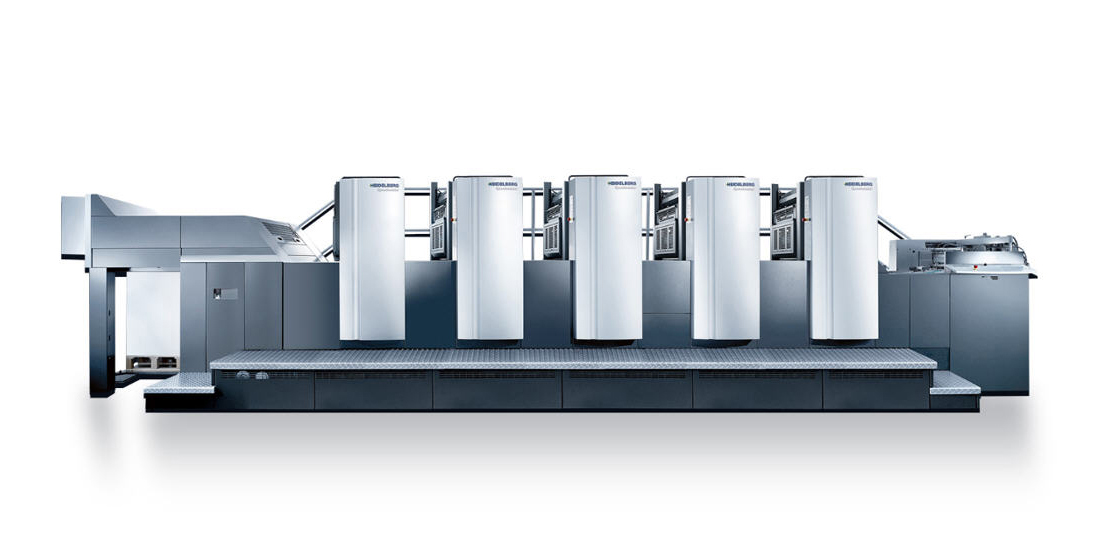 Heidelberg Druckmaschine bei Druckerei Menacher